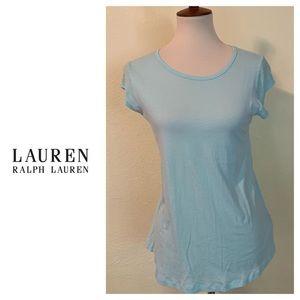 Lauren Ralph Lauren Turquoise Top. Size Medium